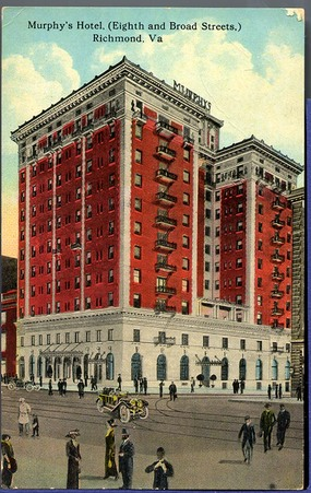 Murphy Hotel, Richmond, Virginia