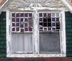 old windows that need repair