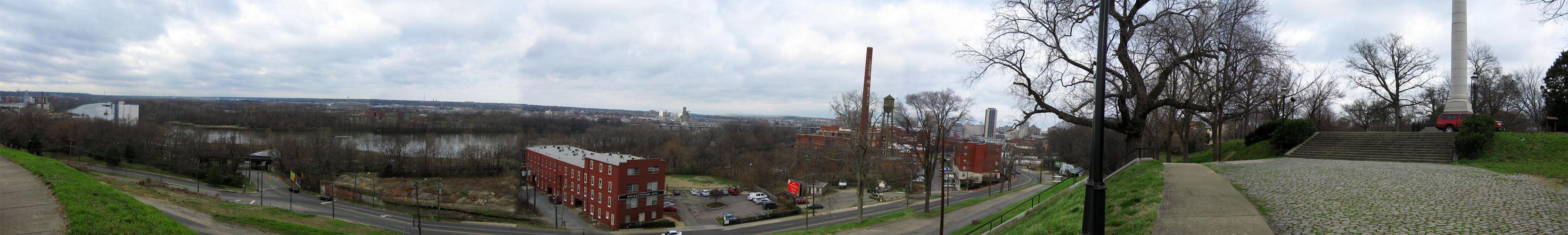 Richmond >> Panorama, Richmond, Virginia