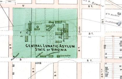 central lunatic asylum