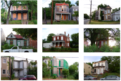 100 vacant houses in the East End of Richmond, Virginia