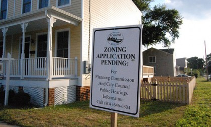 Zoning Application Pending