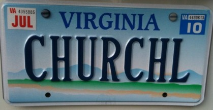 church_hill_license_plate