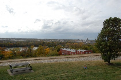 autumn view from Libby Hill Park