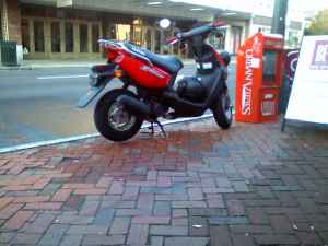 Scooter Stolen On Marshall Street Chpn