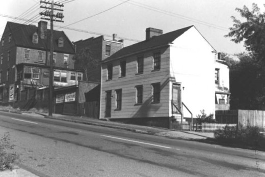 N. 25th St., Between Franklin and Grace October 1954