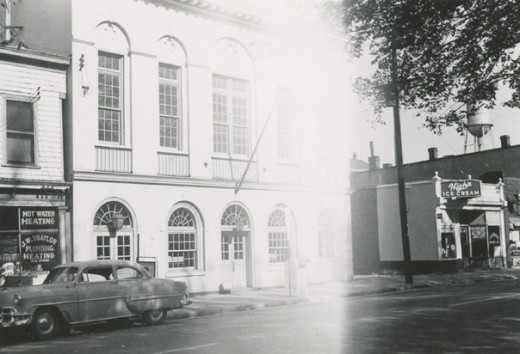 Post Office East End Br., 2406-08 E. Broad St. October 1954