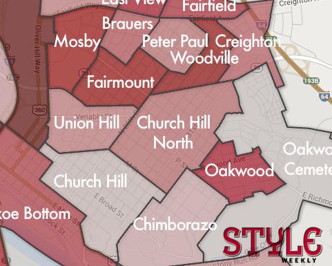 Neighborhoods Crime Map 2013 Chpn