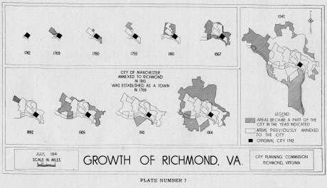 growth of richmond