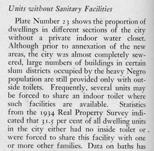 sanitary facilities text