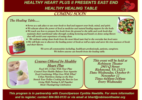 East End Healing Table Flyer(1)