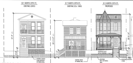 Car To Consider 9 New Houses Mixed Use For 25th Street