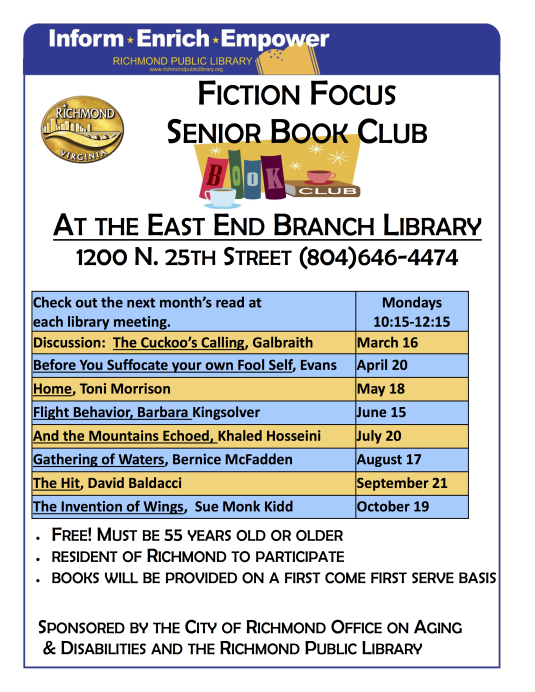 Fiction Focus Book Club EE