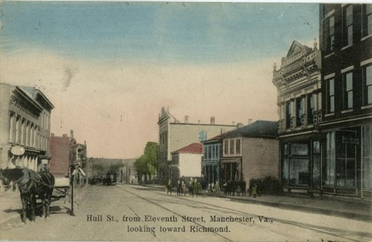 Hull Street from 11th Street via Valentine Museum