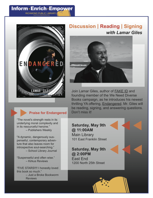 Lamar Giles Event revised
