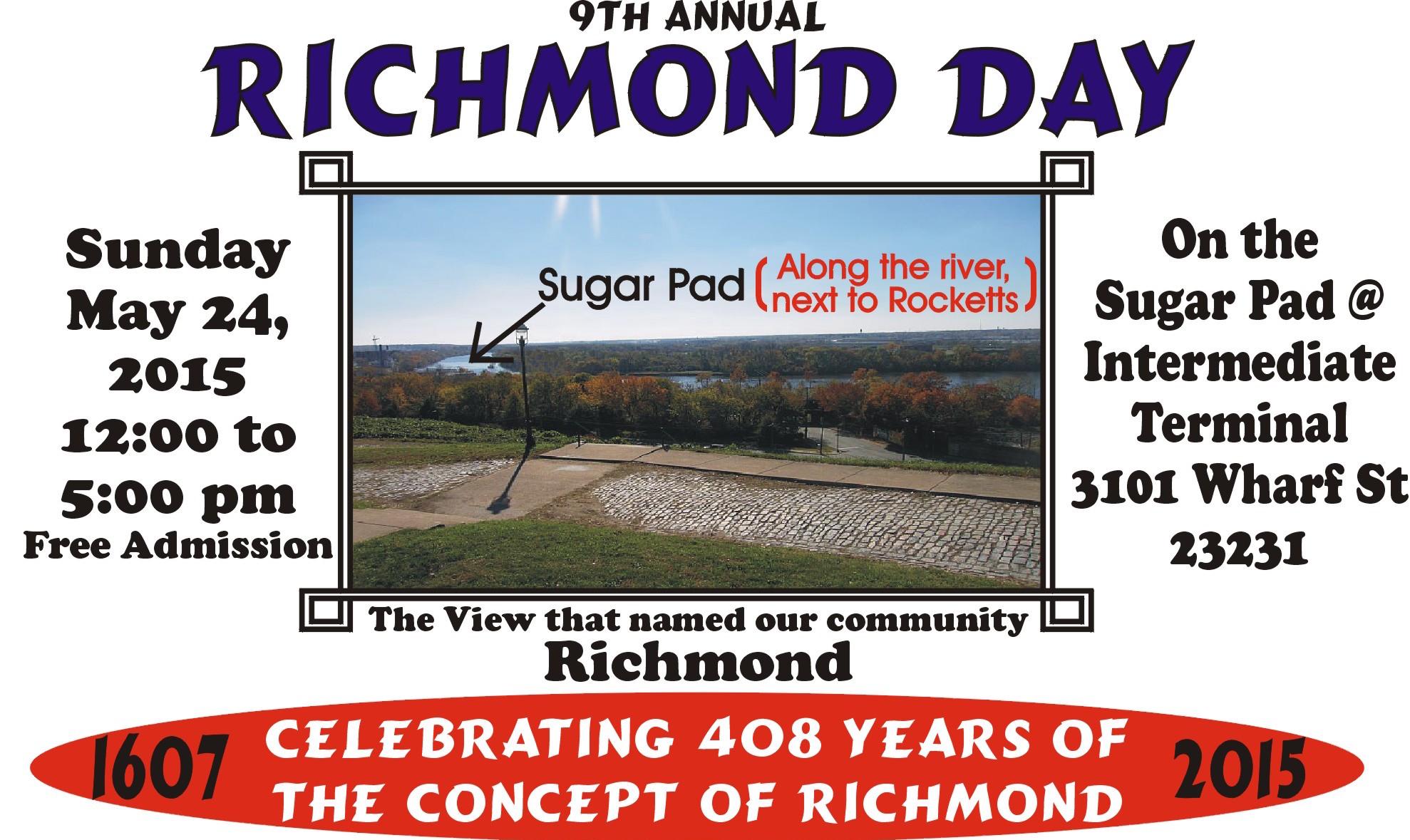 Richmond Day 2015 Flyer