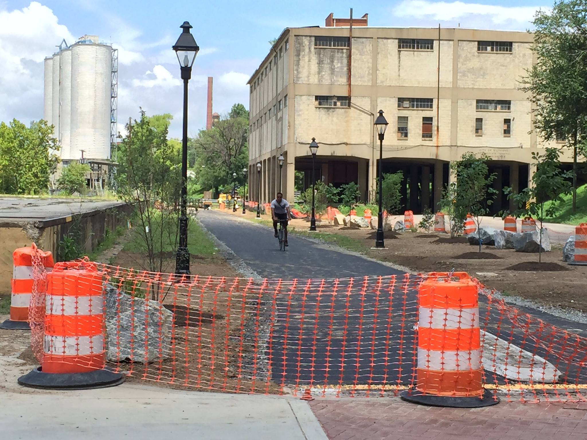 Lehigh Cement silos coming down next month - CHPN