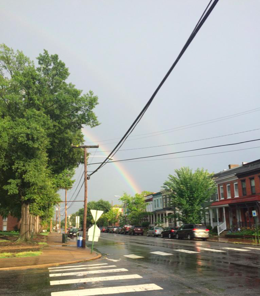 Rainbow over Marshall Street from Josh Conrad