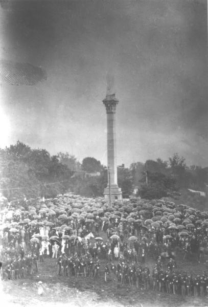 Unveiling of the monument (1894)