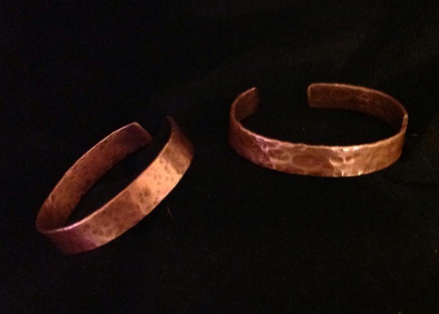 2 Copper Bangles