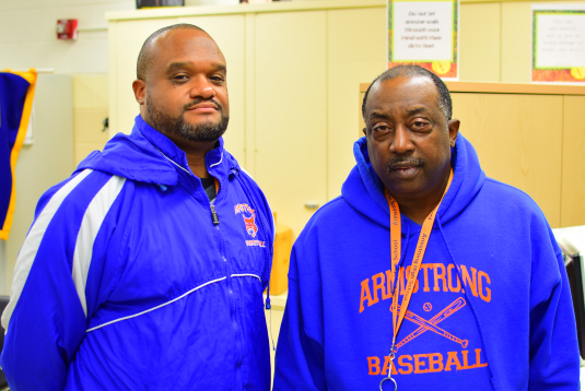 Coach Anderson and Coach Day