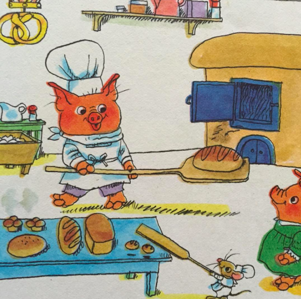 Richard Scarry's Church Hill: Sub Rosa