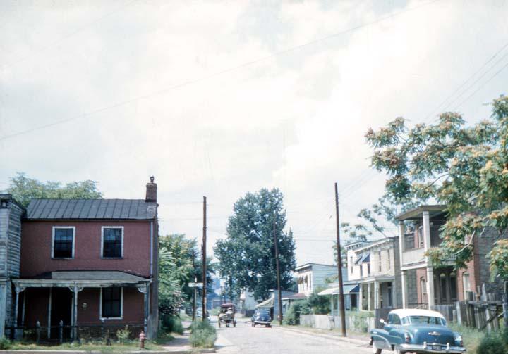 carrington street 1956