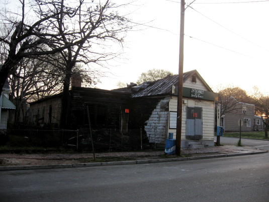 24th and Fairmount after the fire (2007)