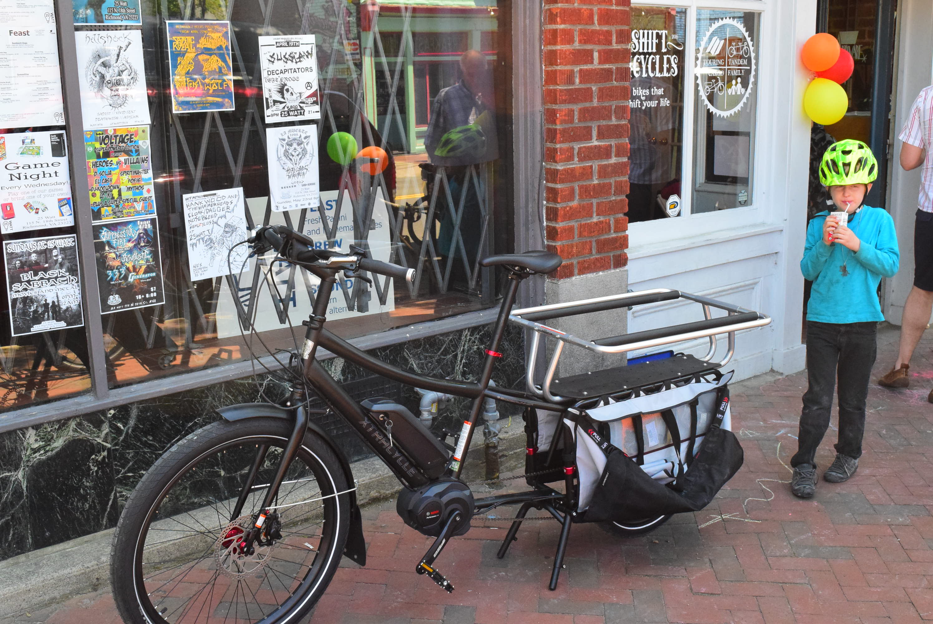 cargo bike shift rva