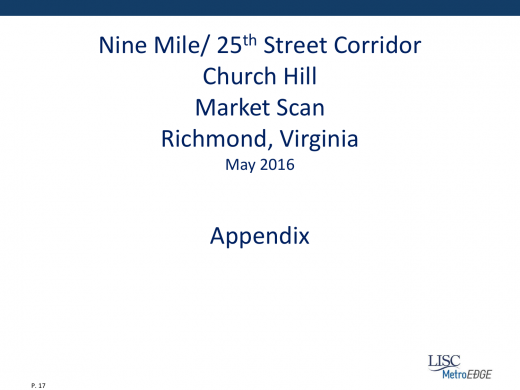 MetroEdge Church Hill Presentation 17