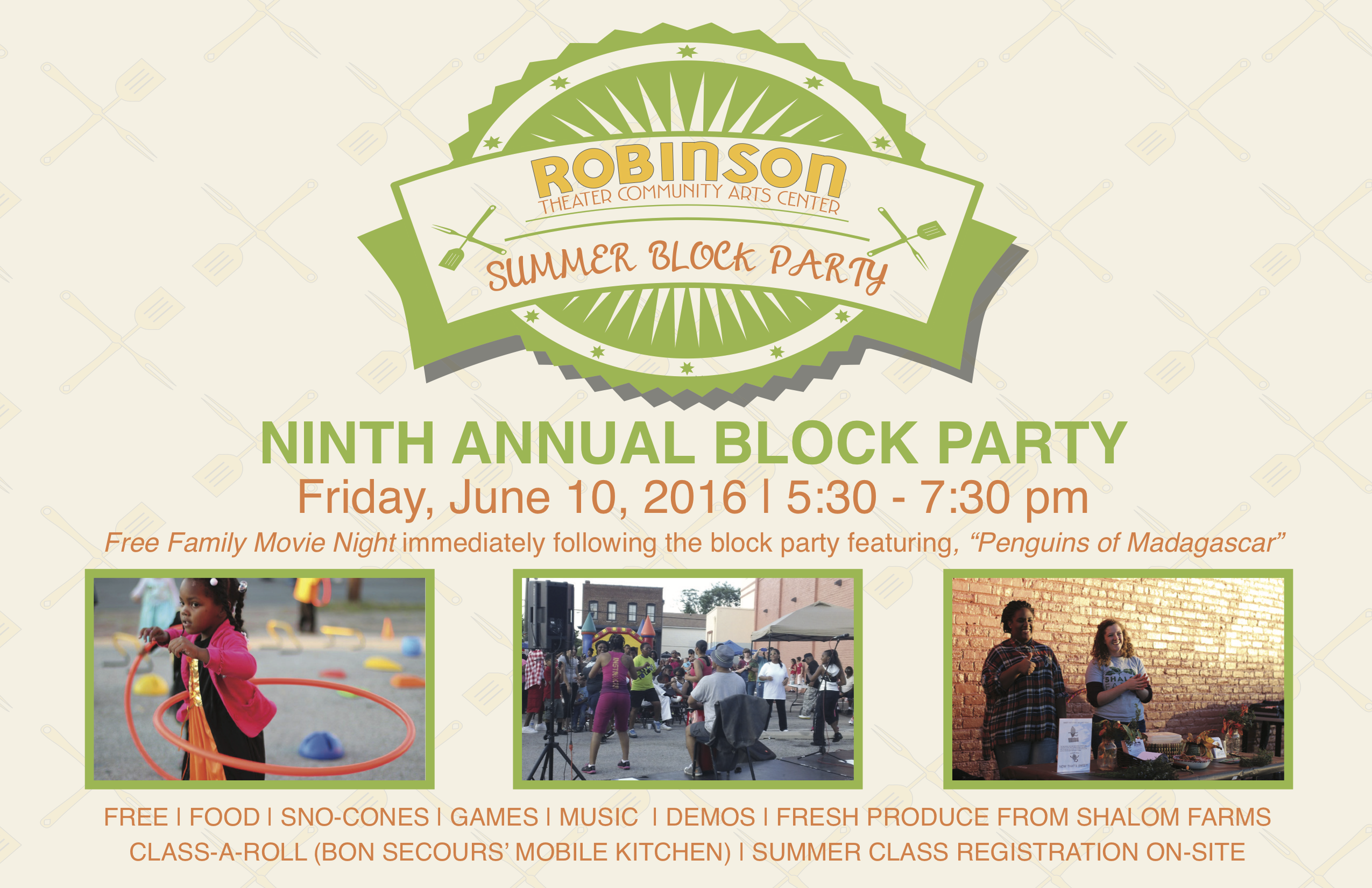 robinson theater s summer block party is tonight church hill people 39 s news richmond virginia. Black Bedroom Furniture Sets. Home Design Ideas