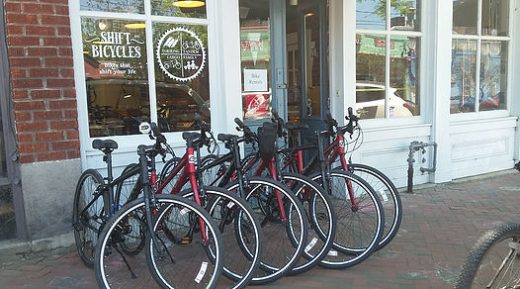 Bike rentals at Shift