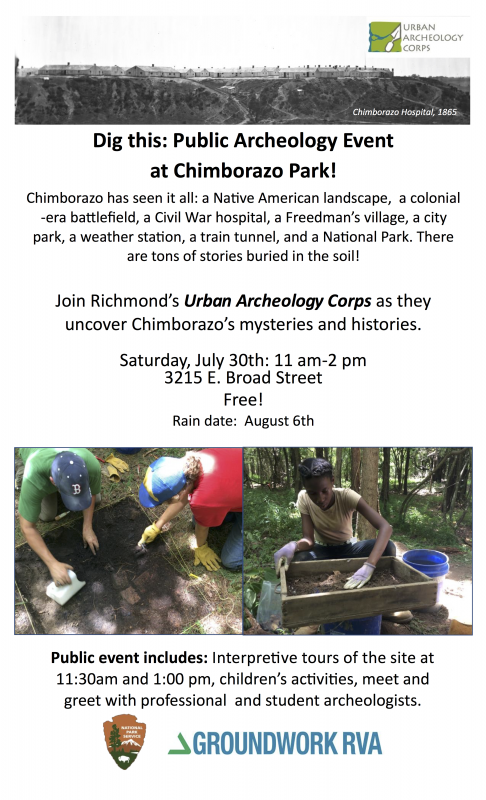 Chimbo Public Arch Day flyer