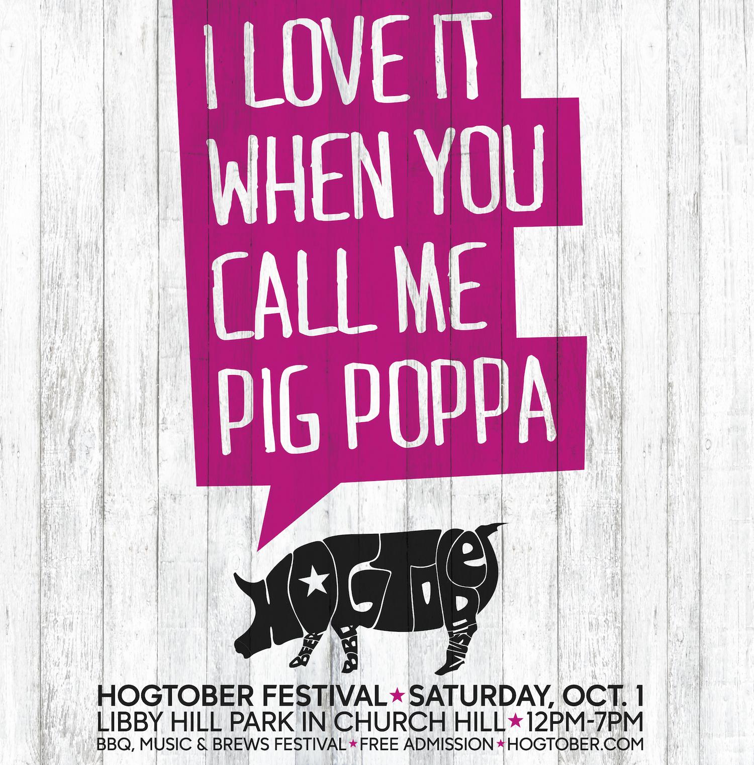 Hogtober ad Pig