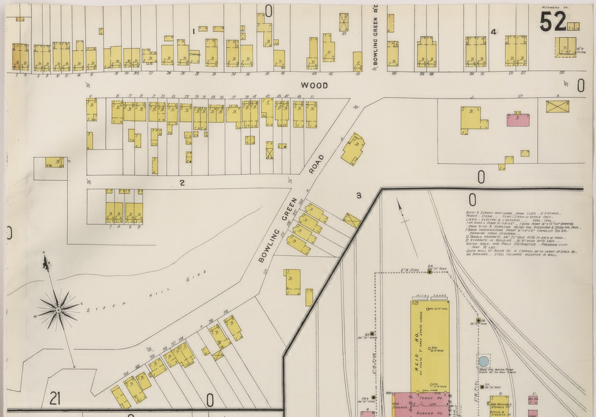 Bowling Green Village 1905 Church Hill Peoples News Richmond