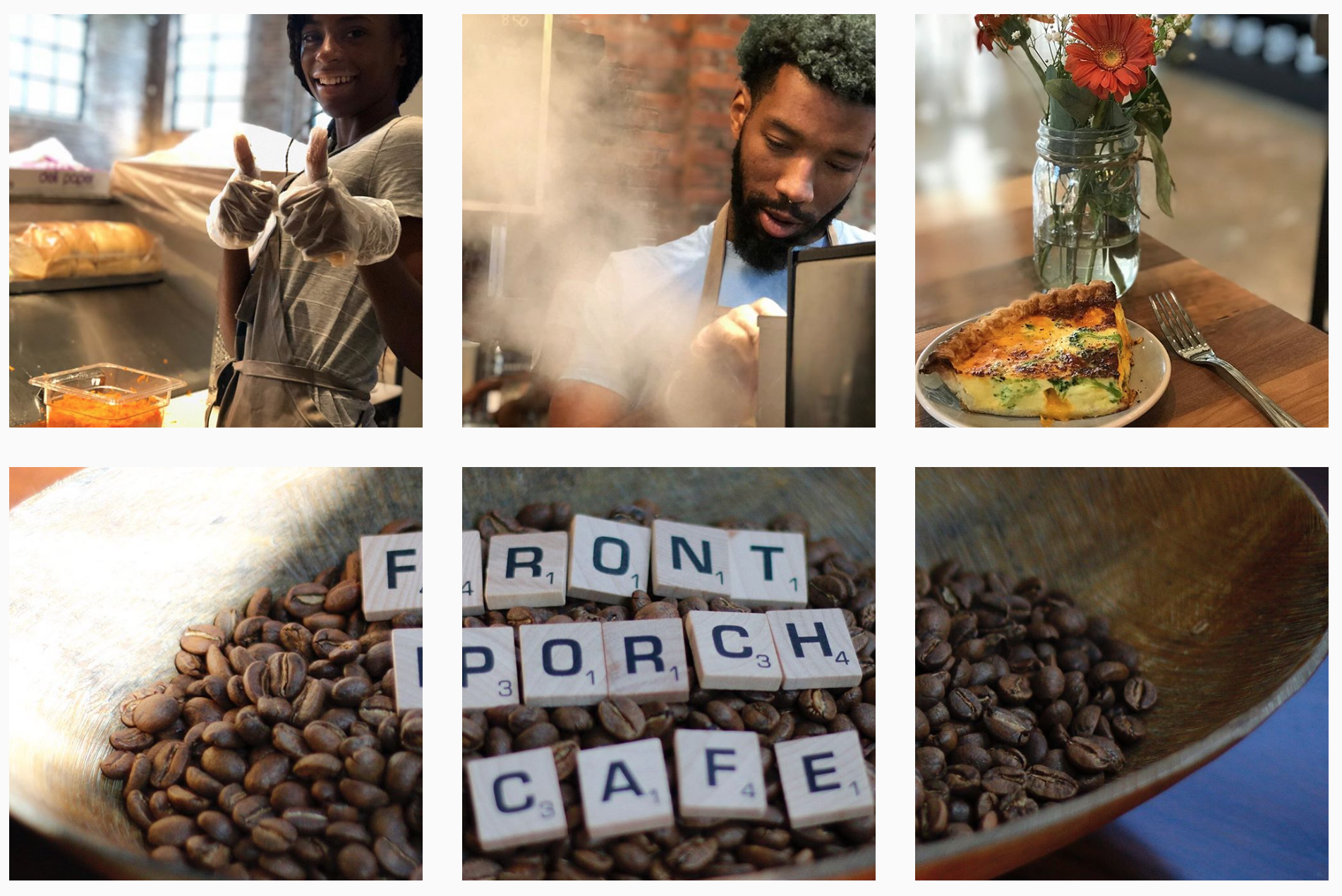 Front Porch Cafe grand opening is this Thursday Church Hill