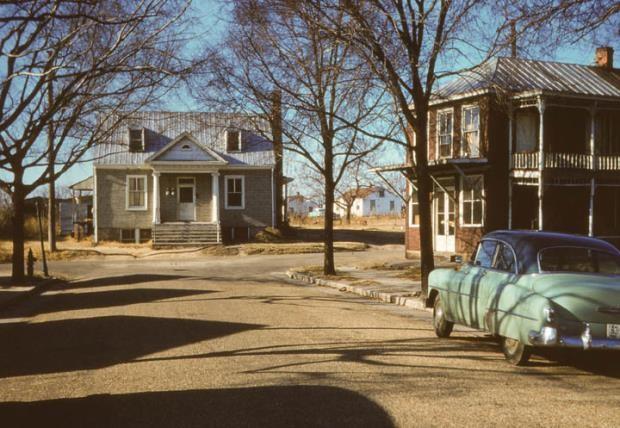 1428 Coalter Street, Mosby.  December 1955.