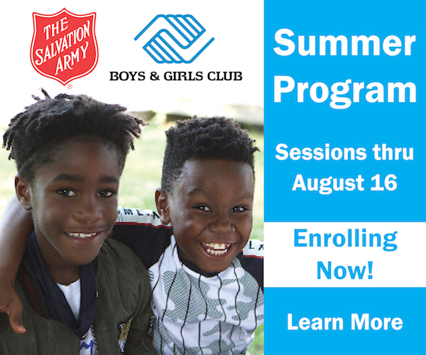 Summer Program Salvation Army